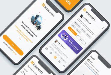 interests-app-design